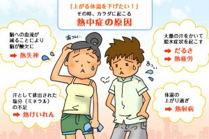 熱中症の症状の頭痛や吐き気は要注意!最終通告にしっかり対応!